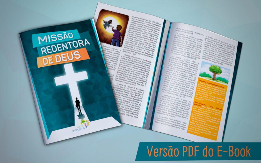 Aliança Evangélica lança cartilha Missão Redentora de Deus