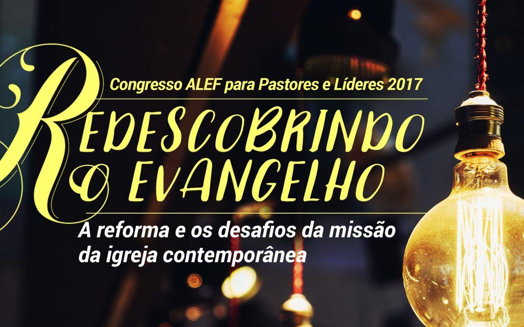 Em outubro tem o Congresso ALEF